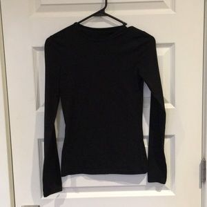 Black long sleeve top from H&M Basics - like new!